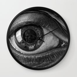 Escher - Eye Wall Clock