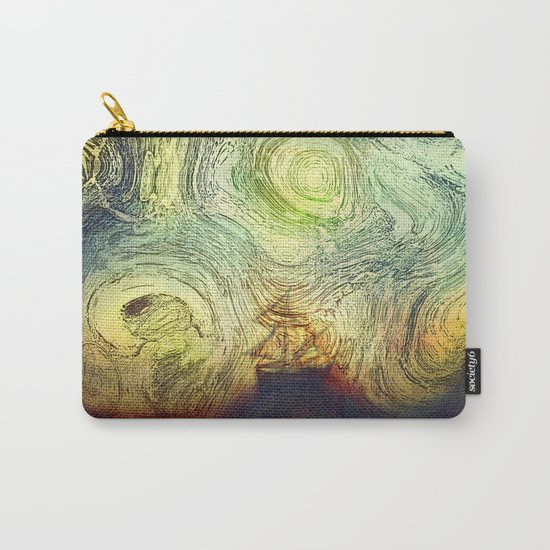 Starry sailing Carry-All Pouch