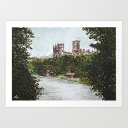 Durham view Art Print