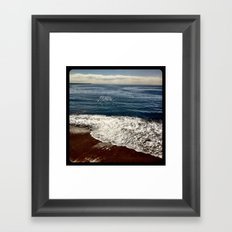 Seaside.  Framed Art Print