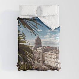 view of havana in cuba Comforters