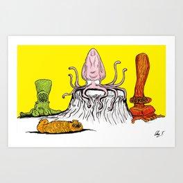 Bachelor Party Art Print