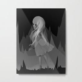 Invisible Metal Print
