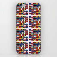 europe iPhone & iPod Skins featuring Europe/Europa by MehrFarbeimLeben