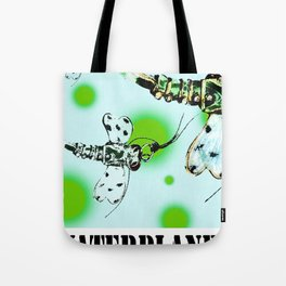 WATERPLANET: Dragonfly Tote Bag