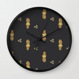 Slippers. Wall Clock