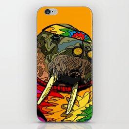 Hippie Walrus iPhone Skin
