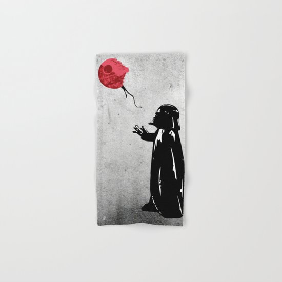 Little Vader - Inspired by Banksy Hand & Bath Towel