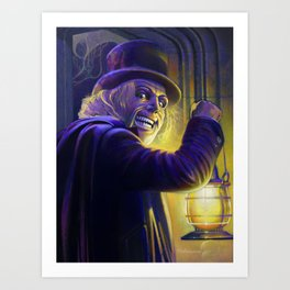 "Lon Chaney from ""London After Midnight"" (1927) Art Print"