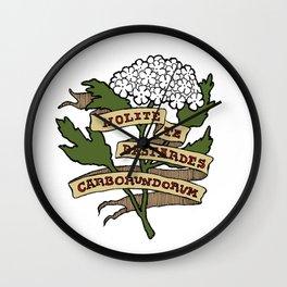 Handmaid's Tale - NOLITE TE BASTARDES CARBORUNDORUM (color) Wall Clock