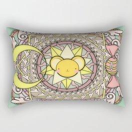 Cuteness Mandala Rectangular Pillow