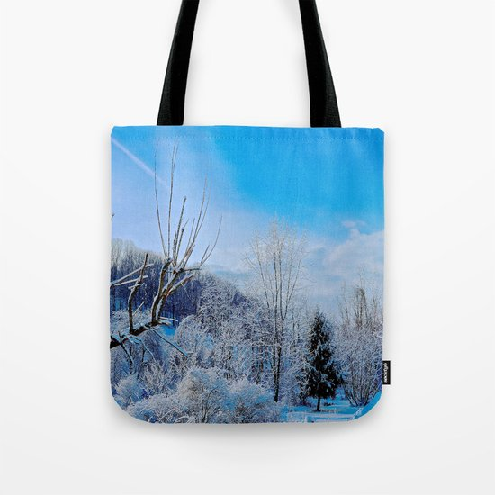 Good Morning Winter Tote Bag