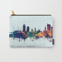 Cardiff Wales Skyline Carry-All Pouch