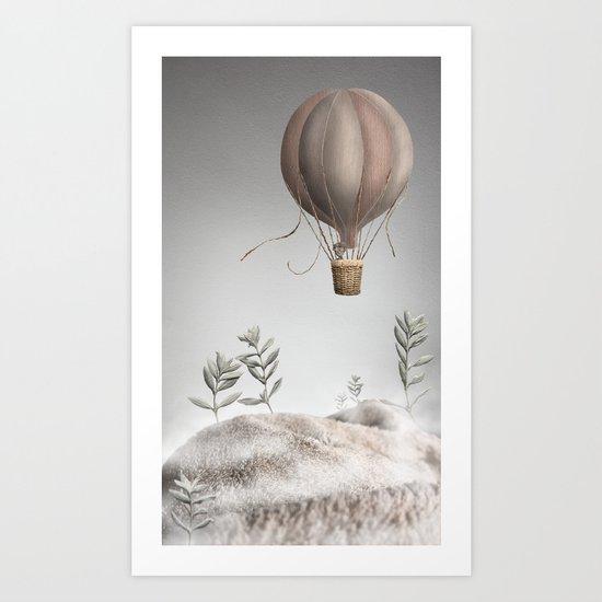 Morning Balloon Art Print