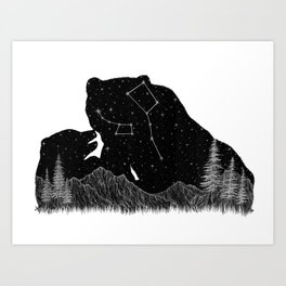 Ursa Major Ursa Minor Kunstdrucke