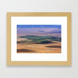 Ngorongoro Crater Tanzania Framed Art Print
