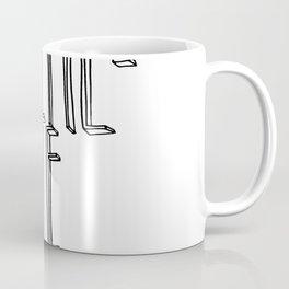 KEEP LITTLE ROCK SKETCHY Coffee Mug