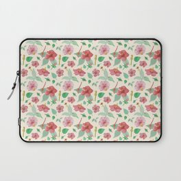 Hibiscus Pattern Laptop Sleeve