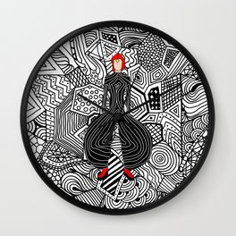 Heroes Fashion 6 Wall Clock