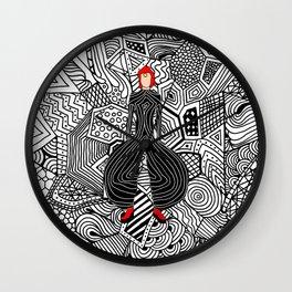 Heroes Fashion 6 Wall Clock