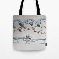 sail Tote Bags featuring Sail by Bryan McKinney