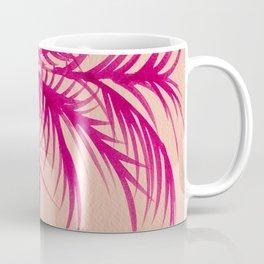Pink Palms Coffee Mug