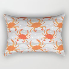 Lets Eat Some Crabs! Rectangular Pillow