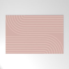 Minimal Line Curvature X Welcome Mat
