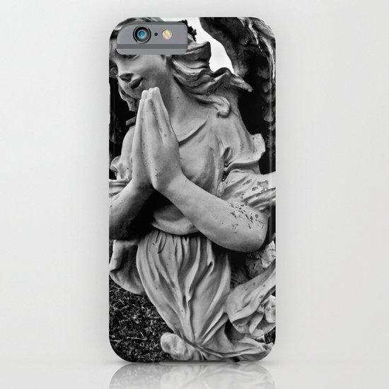 Praying angel iPhone & iPod Case