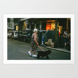 Afternoon Stroll Art Print