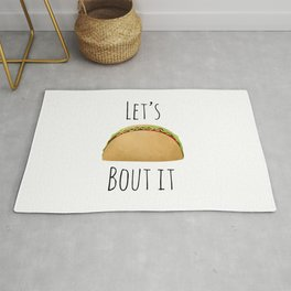 Let's Taco Bout It Rug