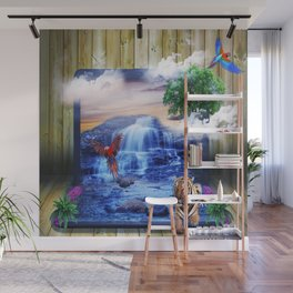 Wild Paradise Laptop Wall Mural