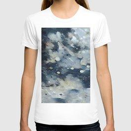 Dark Galaxy1 watercolour by CheyAnne Sexton T-shirt