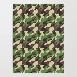 Forest camo Poster