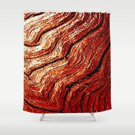Driftwood Bronze Shower Curtain