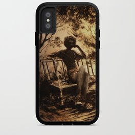 The ink girl iPhone Case