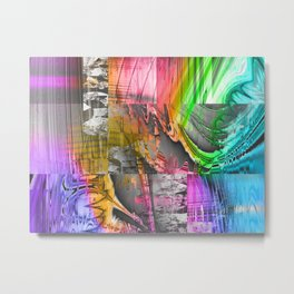 mixed all into one II Metal Print