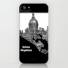 Johns Hopkins iPhone Case