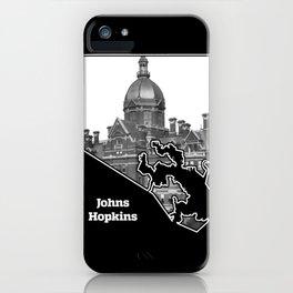 Johns Hopkins iPhone Case