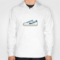 nike Hoodies featuring #55 Nike Cortez by Brownjames Prints