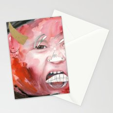 I feel angry Stationery Cards