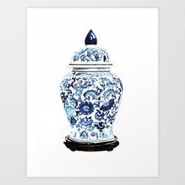GINGER JAR NO. 4 PRINT Art Print