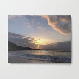 Sunrise, everyday Metal Print