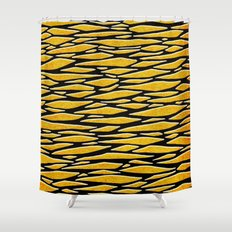 - the dazzle - Shower Curtain