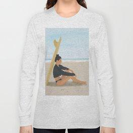 Surfboard Shade Long Sleeve T-shirt