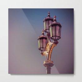 Royal Lights Metal Print