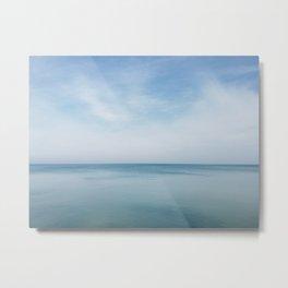 Still Waters on Lake Michigan Metal Print