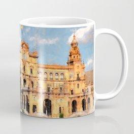 Plaza de Espana, Seville Coffee Mug