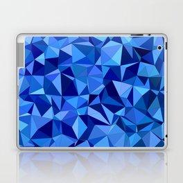 Blue tile mosaic Laptop & iPad Skin