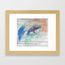 Orbital Framed Art Print